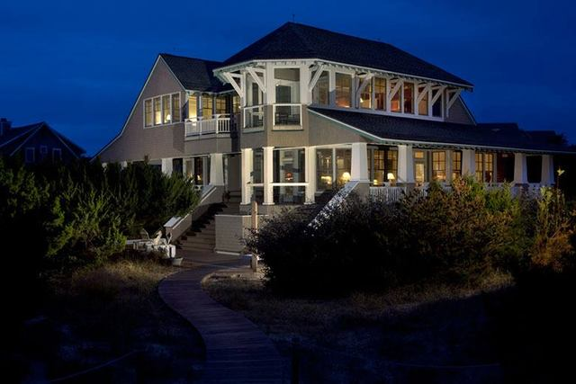 Vacation rental at Bald Head Island.
