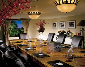 Meeting room at La Posada de Santa Fe Resort & Spa.