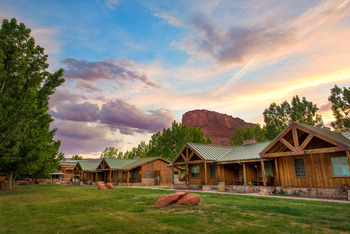 Exterior view of Sorrel River Ranch Resort & Spa.