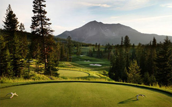Moonlight Basin Golf at Big Sky Vacation Rentals.