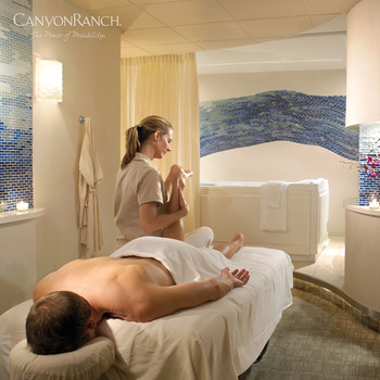 The spa at Canyon Ranch in Lenox.