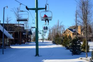 Ski Lift at Railey Lake Mountain