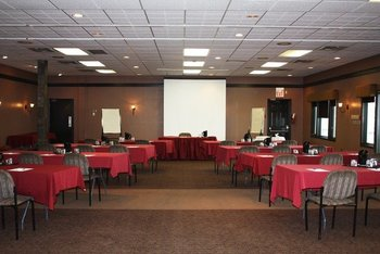 Conference room at Bayview Wildwood Resort.
