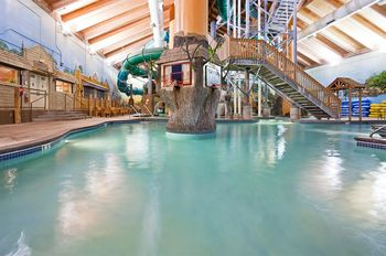 Wild Woods Water Park at Holiday Inn Minneapolis.