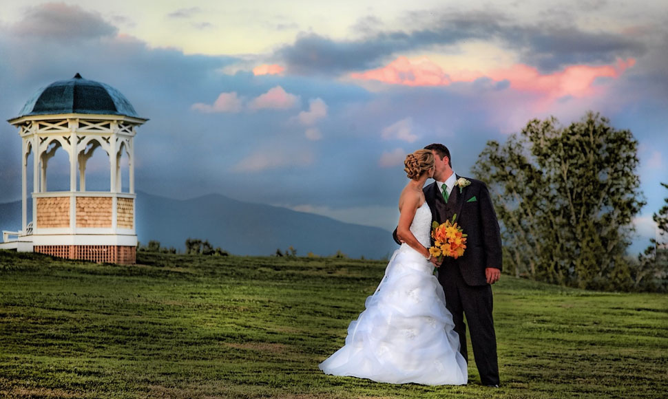 Wedding at Mountain View Grand Resort.