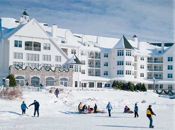 Winter at The Osthoff Resort.