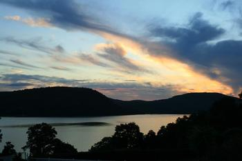 Sunset at Inn on the Hudson