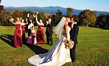 Wedding at Steele Hill Resort.