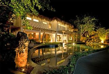 Exterior view of Maribago Bluewater Beach Resort.