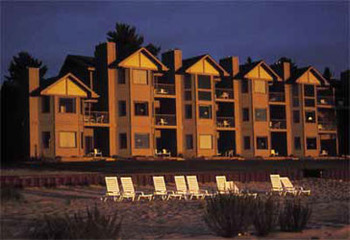 Exterior view at Glidden Lodge Beach Resort.