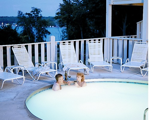 Romantic Jacuzzi at Country House Resort