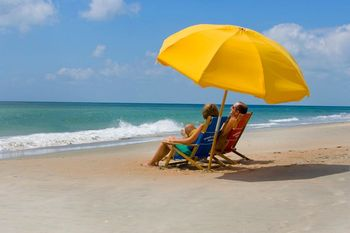 Relaxing At The Beach at Hatteras Realty