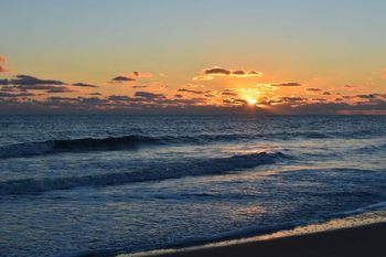 Beautiful sunrise near Outer Banks Inn.