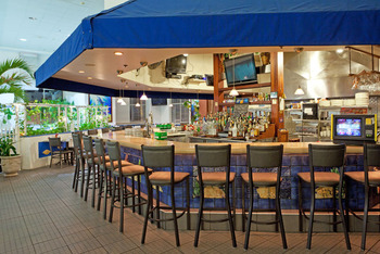 Coral Reef Bar and Grill at Holiday Inn Suites Ocean City.