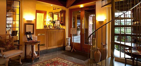 Interior view of Sonoma Coast Villa.
