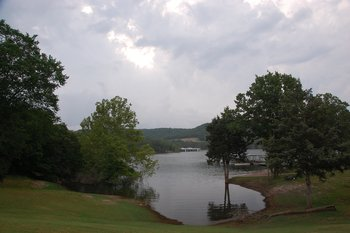 Scenic view at White Wing Resort on Table Rock Lake.