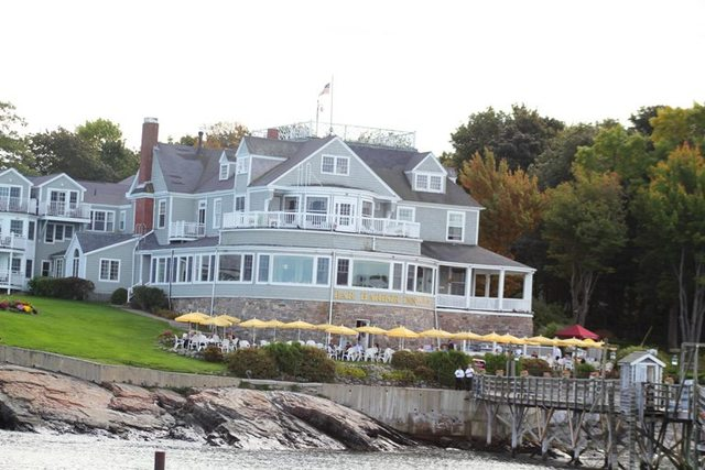 Exterior View of Bar Harbor Inn & Spa