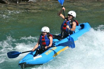 Rafting at Glacier Guides/Montana Raft Company.