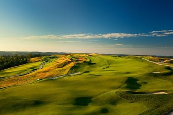 Golf course at French Lick Resort.