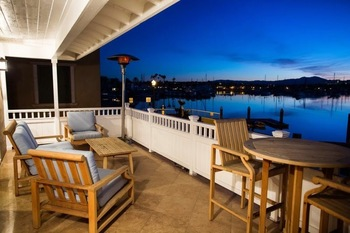 Vacation rental balcony at Casa De Balboa Beachfront Rentals.