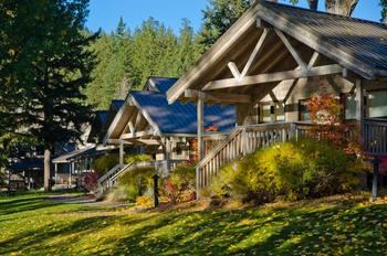 Cabins at Sun Mountain Lodge.