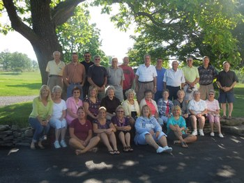 Family reunion at Seneca Springs Resort.