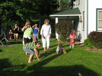 Summer activities at Baumann's Brookside Resort.