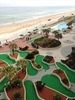 Mini Golf View at Bluewater Resort