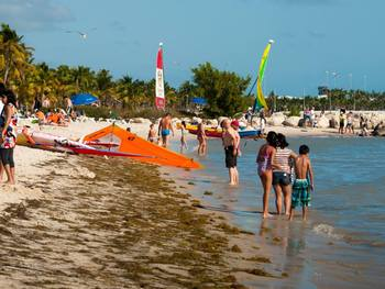 Key West beaches near The Banyan Resort.