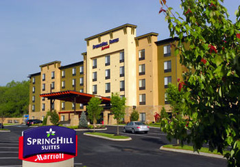 Exterior View of SpringHill Suites - Pigeon Forge