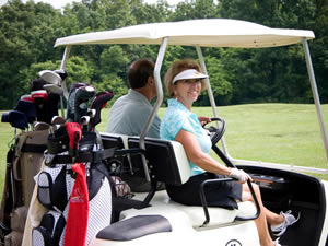 Golf Cart at Dogwood Hills Golf Resort