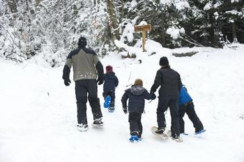 Winter fun at The Whiteface Lodge.