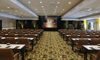 Conference room at The Woodlands Resort & Conference Center.