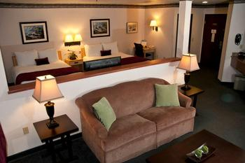Family suite at The Garibaldi House Inn & Suites.