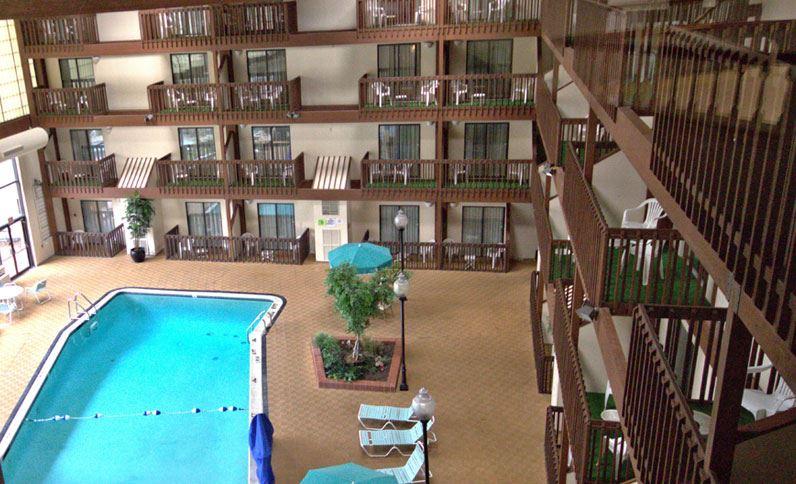 Indoor Swimming Pool at Hotel 1620 at Plymouth Harbor