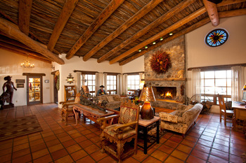 Lobby area at Tanque Verde Ranch.