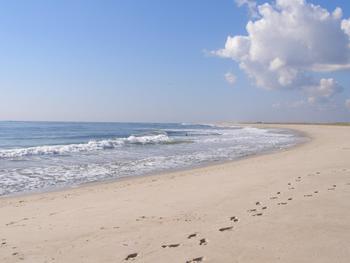 Ponquogue Beach near The Drake Inn Hampton Bays.