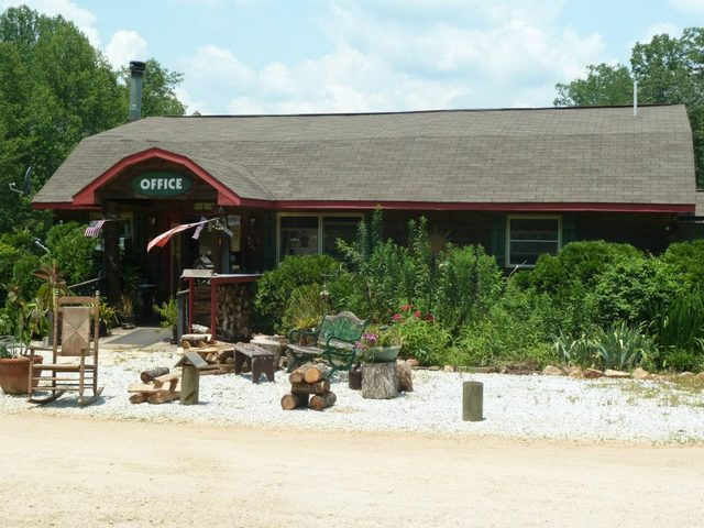 mountain rest cabins and campground mountain rest sc