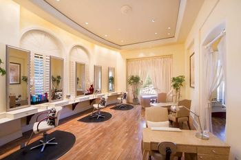 Salon at Hilton Lake Las Vegas Resort & Spa.