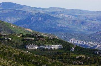 Aerial view of Lodge & Spa At Cordillera.