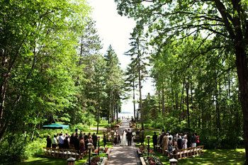 Outdoor Weddings at Grand View Lodge
