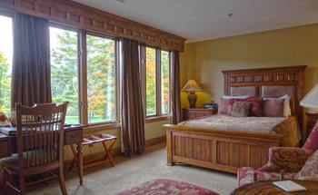 Guest room at Chetola Mountain Resort.