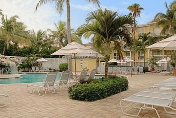 Pool Area at Sheraton Suites Key West