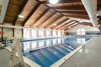 Indoor pool at Best Western Silver Fox Inn.