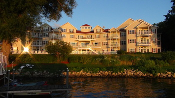 Exterior view at Delavan Lake Resort.