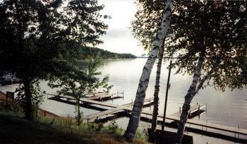 Dock at Quarterdeck Resort.