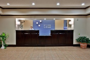 Front Desk at Holiday Inn Express Blairsville