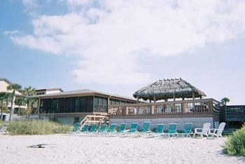 Exterior view of Sea Oats Beach Club.