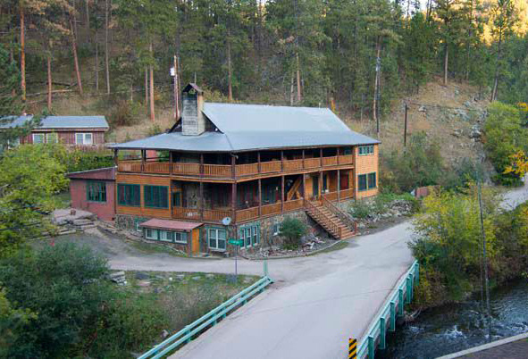 Exterior View of Hisega Lodge
