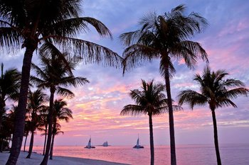 Ocean sunset at The Westin Key West Resort.